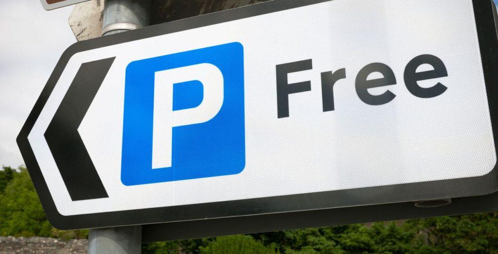 free parking - hybrid caRS